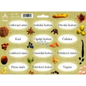 Arch Spice Stickers Jute Color Printing Barbecue Spices - Mixtures of Spices (Common)