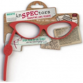 If Inspectors Magnifier with magnet Magnifying glasses Red 168 x 6 x 138 mm