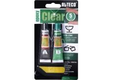 Alteco Epoxy Clear 5 min dvousložkové epoxidové lepidlo 20 g