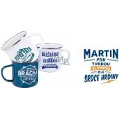 Albi Tin mug named Martin 250 ml