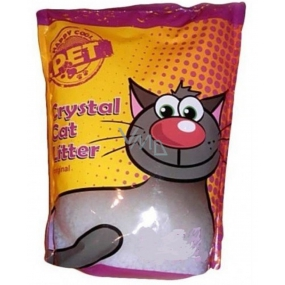 Silica Happy Cool Pet Original Litter highly absorbent silicone ecological for cats 7.6 liters