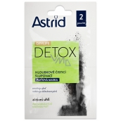 Astrid Citylife Detox Deep Cleansing Peeling Face Mask For Normal To Oily Skin 2 x 8 ml