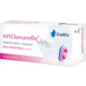 Exeltis MYOovunelle vaginal suppositories containing myo-inositol with pH 6, creates optimal conditions for helping fertilization of the egg 3 pieces