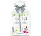 Fenjal Miss Summer Dream shower gel for women 200 ml + body lotion 200 ml + scarf 1 piece, cosmetic set