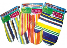 Clanax Kitchen glove with magnet, different motives and colors 17 x 25 cm 1 piece
