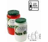 Bolsius Angela oil composite candle burning time 2.5 days 1 piece