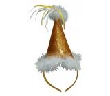 Golden swan hat, headband