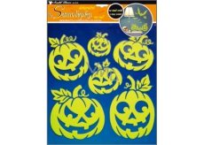 Room Decor Pumpkin wall stickers shining in the dark 38 x 30 cm