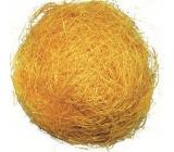 Sisal decorative yellow 30 g