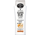 Gliss Kur Total Repair 19 Regenerating Hair Shampoo 250 ml