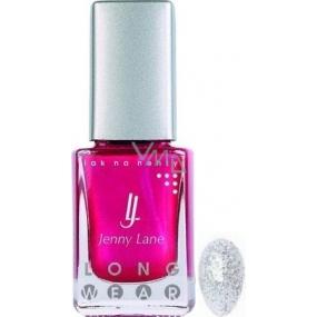 Jenny Lane Long Wear nail polish with long-lasting effect 181 Holographic 14 ml
