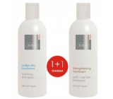 Ziaja Med Proti vypadávání vlasů šampon na vlasy 300 ml + Proti svědění - Zklidňující šampon 300 ml, duopack
