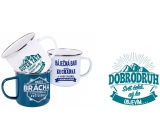 Metal cup with the name 051 Adventurer
