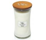 WoodWick Magnolia - Magnólie vonná svíčka s dřevěným knotem a víčkem sklo velká 609,5 g