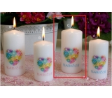 Lima With Dedication Grandma Candle With Cylinder Cylinder 60 x 120 mm 1 Piece