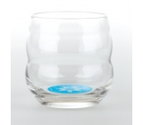 Masaru Emoto Mythos Glass I'm Happy (Fish / Sun) - Blue 0.25