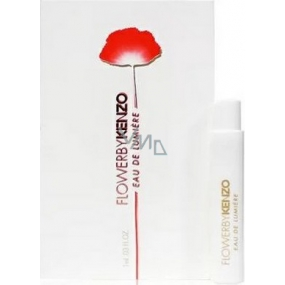 Kenzo Flower by Kenzo Eau De Lumiere EdT 1 ml Eau De Toilette Spray, Vial