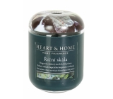 Heart & Home River Rock Soy Scented Candle medium burns up to 30 hours 110 g