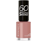 Rimmel London 60 Seconds Super Shine Nail Polish nail polish 230 Mauve to the Music 8 ml