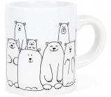 Albi Espresso mug in a box Bears 100 ml