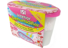 151 Interior Dehumidifier Rose remover with air freshener 300 g