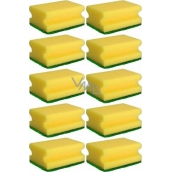 Tinky Sponge for dishes shaped 9 x 6 x 4 cm 10 pieces