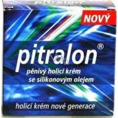 Pitralon pěnivý holicí krém se silikonovým olejem a levandulovou vůní 150 g