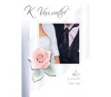 Ditipo Hrací přání K Vaší svatbě anglická písnička You And Me 224 x 157 mm