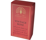 English Soap Rose natural perfumed soap with shea butter 200 g