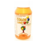 Kittfort Color Line Liquid Paint Color Orange 100 g