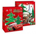 L Children's gift bag L Disney Auto with ušankou