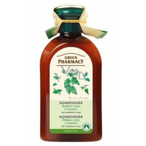Green Pharmacy Nettle and Burdock Root Oil Conditioner for Normal Hair 300 ml