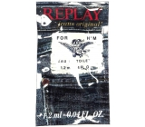 Replay Jeans Original for Him eau de toilette for men 1.2 ml, vial