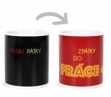 Albi Changing mug I love Fridays 310 ml