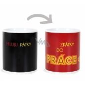 Albi Changing mug I love friday 310 ml