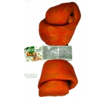 Salač Buffalo knot Chewing buffalo leather knot natural supplementary food 20 - 22.5 cm smoked
