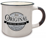 Nekupto Retro mug with the inscription You are original 250 ml