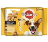 Pedigree Vital Protection with beef and lamb in juice, with turkey and carrots in juice pouch 4 x 100 g