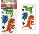 Tattoo decals colored for children Dinosaurs 10.5 x 6 cm