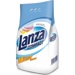 Lanza Compact washing powder for white laundry 20 doses of 1.5 kg