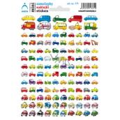 Arch School mini car stickers