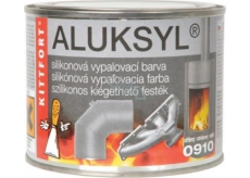 Aluksyl Silicone baking paint Silver 0910 80 g