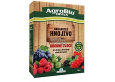 AgroBio Trumf Drobné ovoce přírodní granulované organické hnojivo 1 kg