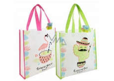 AAH Shopping bag with printing Mexico 38 x 38 x 10 cm