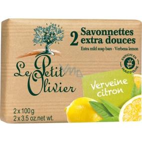 Le Petit Olivier Verbena Citron Extra fine soap 2 x 100 g