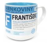 Nekupto Hrnkoviny Mug with the name František 0.4 liter