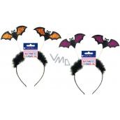 Headband with bats 1 piece