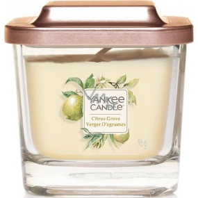 Yankee Candle Citrus Grove - Citrus Grove Soya Scented Candle Elevation Small Glass 1 Wick 96 g