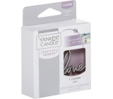 Yankee Candle Charming Scents Metal Love Pendant on a Car Tag