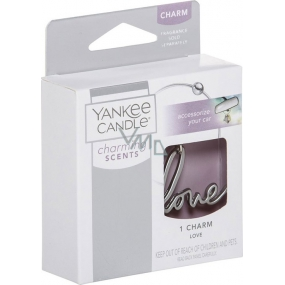 Yankee Candle Charming Scents Love Metal Pendant for Car Tag